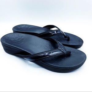 Vionic Flip Flop Orthopedic Sandals Black Sandals